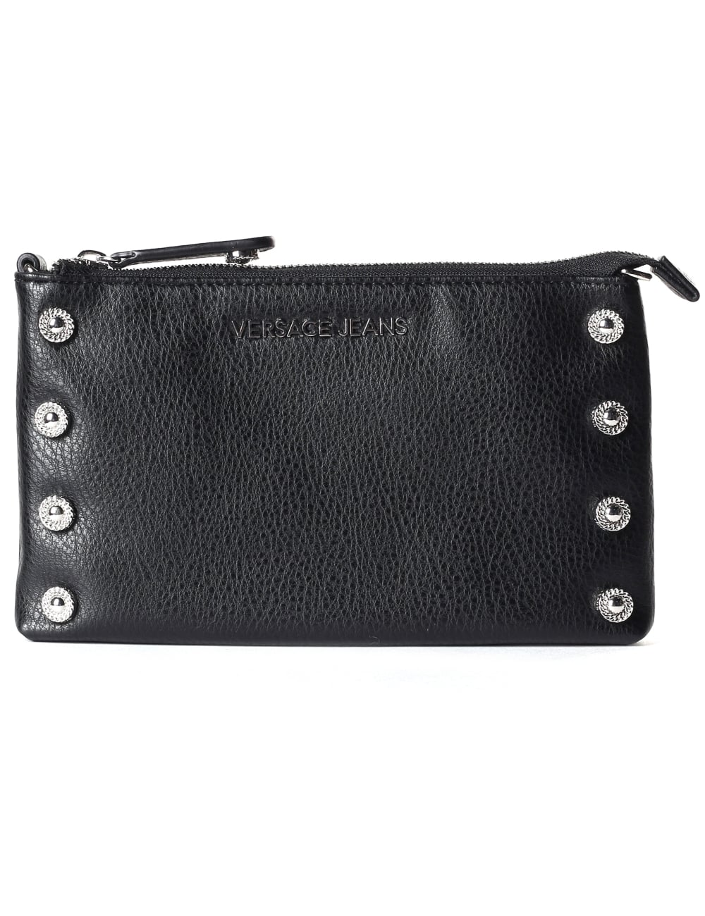 89ff1d567d Versace Jeans Women s Studded Flat Clutch Bag