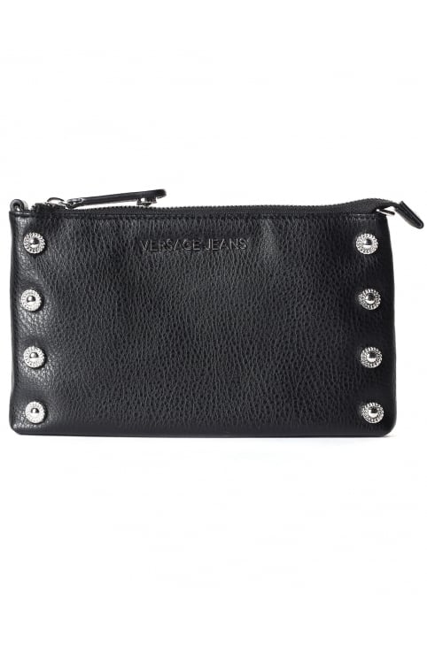 Women's Studded Flat Clutch Bag