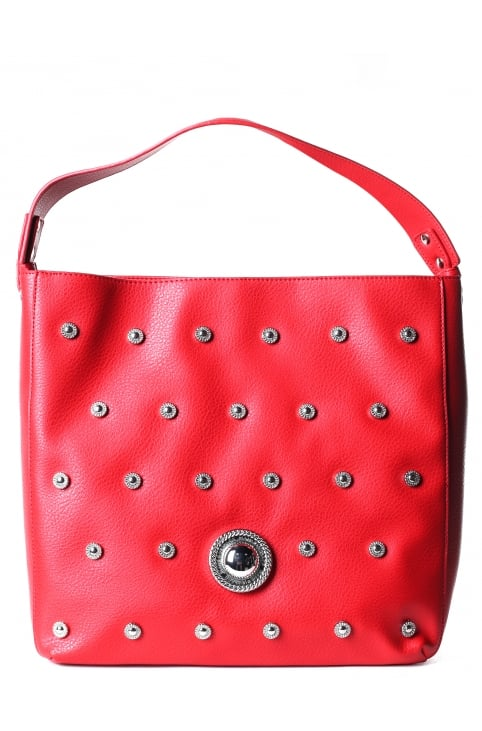 Women's Studded Shopper Bag