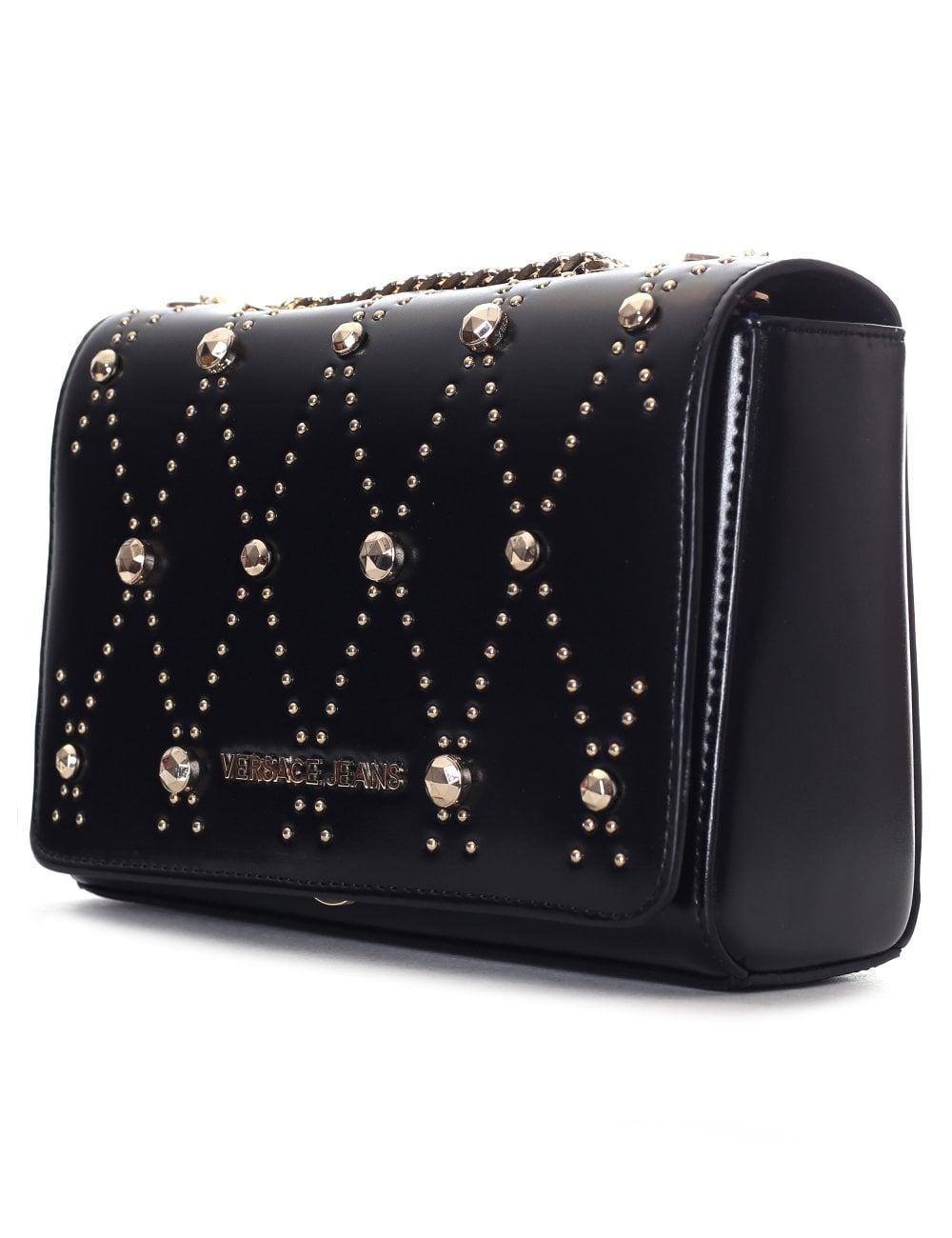 Versace Jeans Women s Studded Shoulder Bag a97c9e98ca859