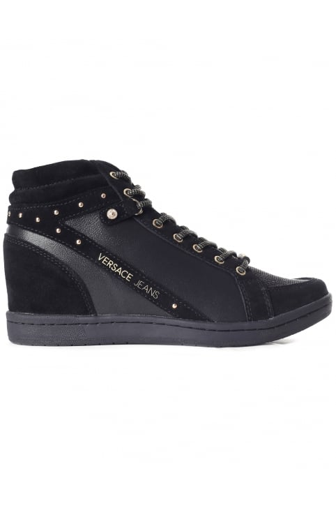Women's Studded Suede HI Top