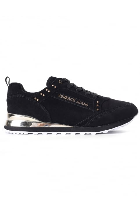 Women's Studded Suede Trainer