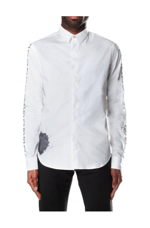 Cuff Stitch Men's Long Sleeve Shirt