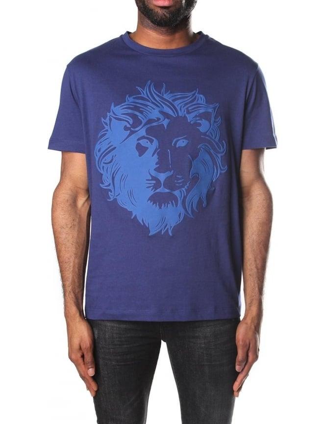 blue versace shirt