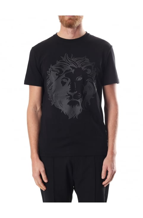 Lion Head Logo Men's Crew Neck Tee