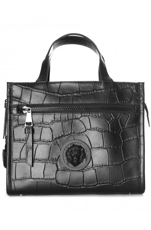 Lion Head Mock Croc Bag 73f3ff9c2c2d5