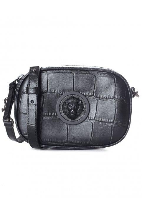 c8c0f2cb72771 Lion Head Zip Top Cross Body Bag. Versus Versace Women s Lion ...