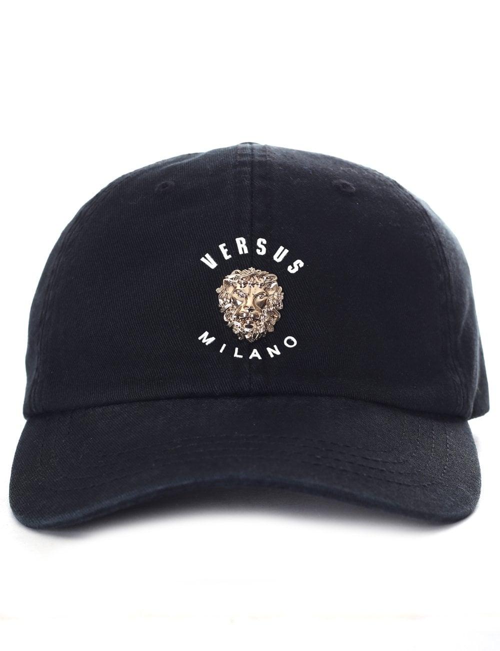 44d4f48b22e Versus Versace Men s Lion Cap Black