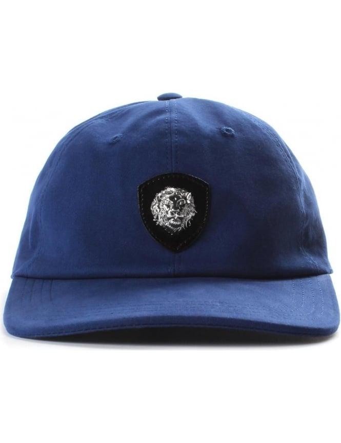 Versus Versace Men s Lion Crest Cap Blue 6e2e166977b5