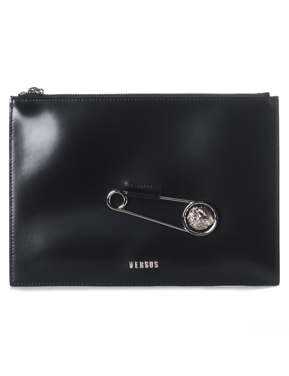 f4cbc86ada Versus Versace Safety Pin Women s Large Pouch Clutch