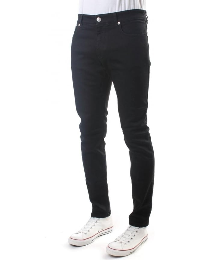 Versus Versace Slim Fit Men's Denim Jean Black