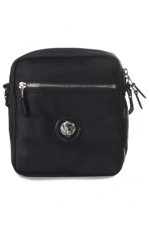 Small Lion Head Men's Messenger Bag