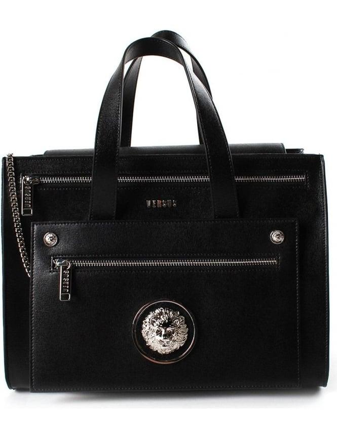de6c3657 Versus Versace Women's Tote Bag With Clutch Black