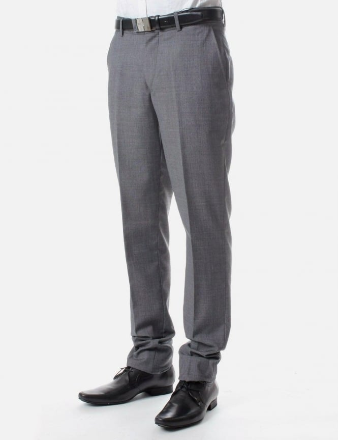 Milk Men's Slim Suit trousers Light Grey