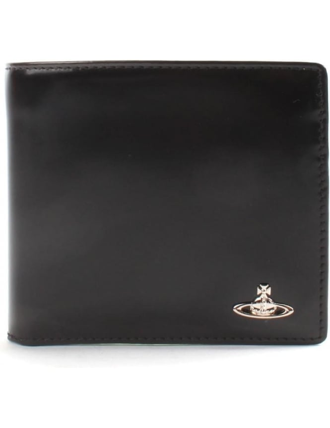 Vivienne Westwood Bicolour Men's Card Holder Wallet Black/Green