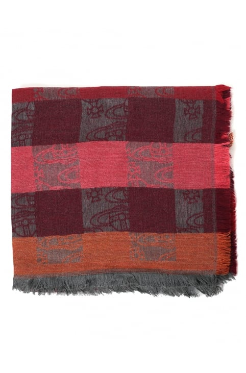 Big Colombina Women's Orb Check Scarf