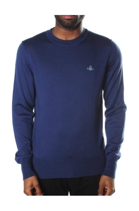 Classic Men's Round Neck Knit Jumper