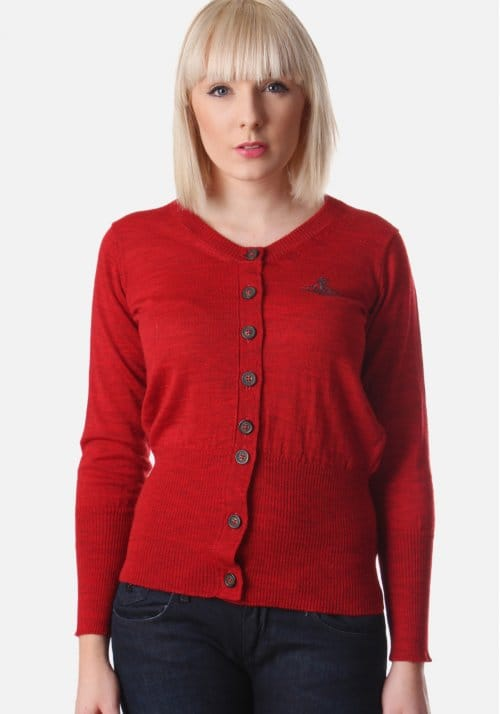 Vivienne Westwood Classic Women's Cardigan Red