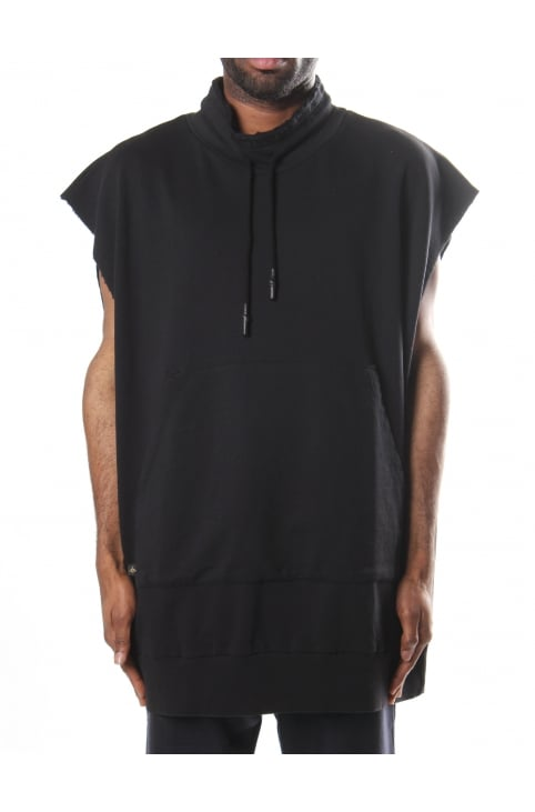 Cut Out Men's Spray Orb Vest Sweat Top