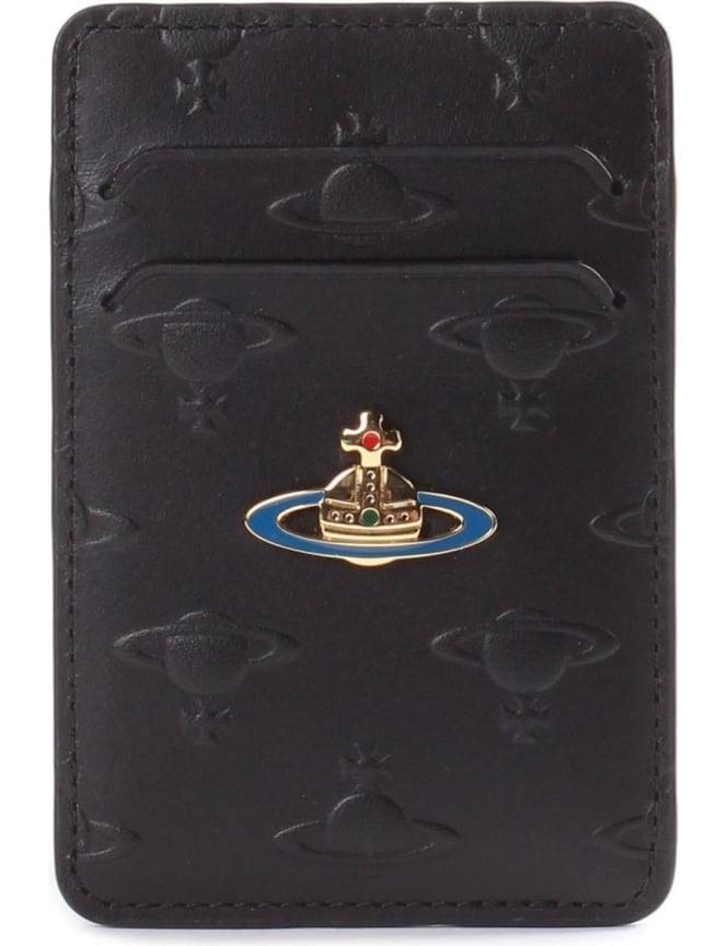 d0e568f1f05 Vivienne Westwood Embossed Orb Men s Card Holder