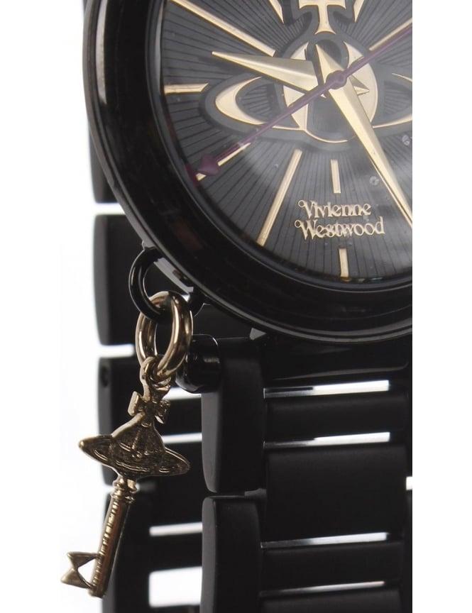 cbb952a5d27 Vivienne westwood Kensington II Women's Analogue Watch Black