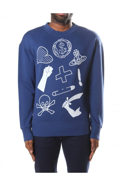 Logo Mix Men's Sweat Top