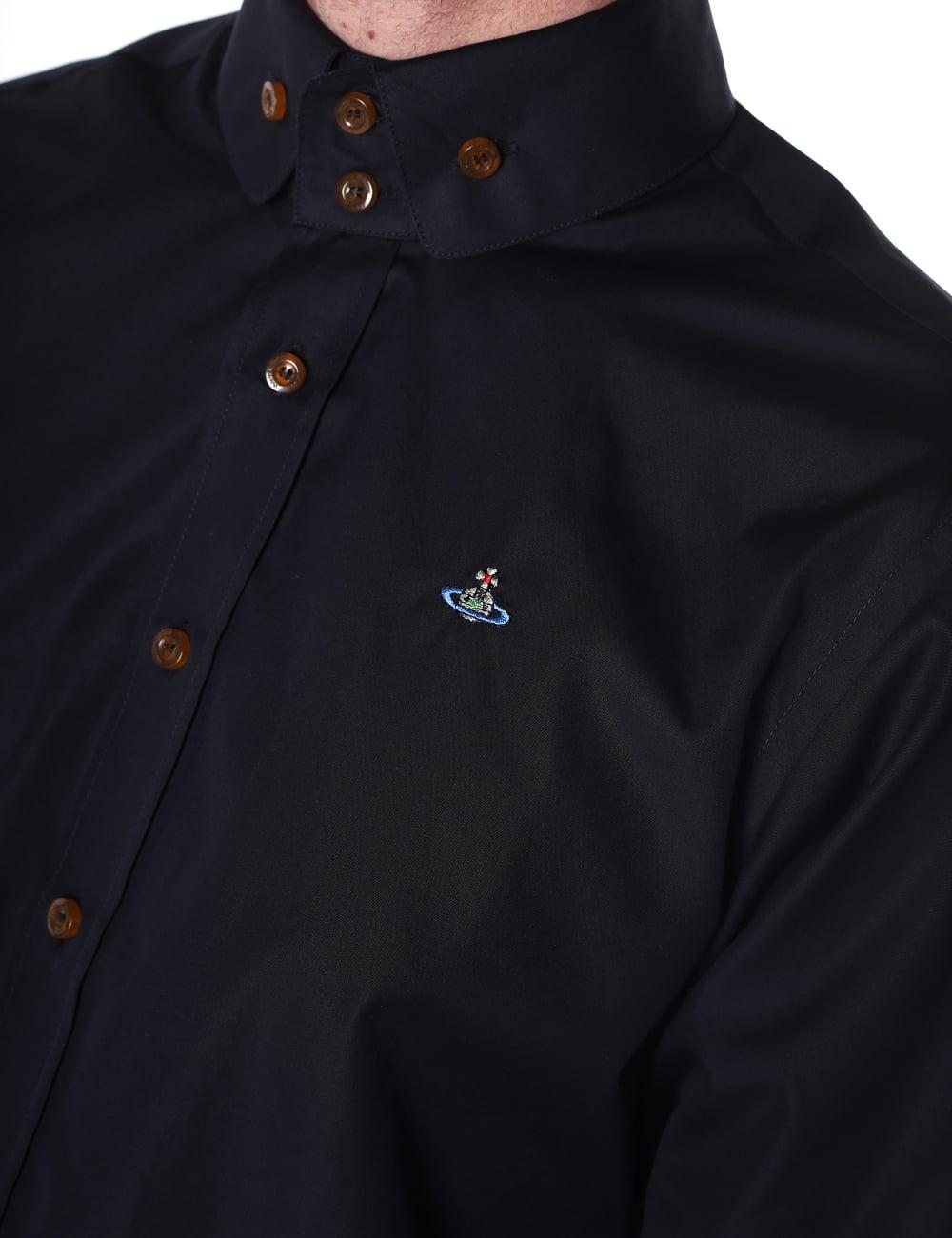 726e9a78240e Vivienne Westwood Men s 2 Button Krall Shirt