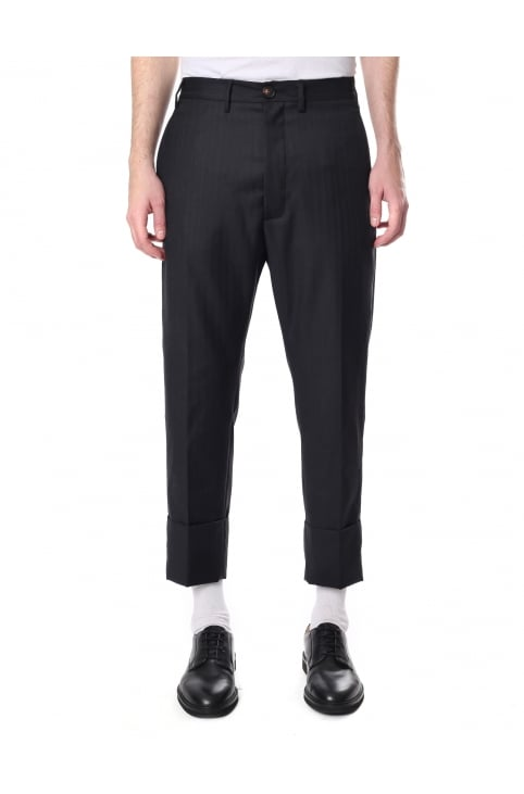 Men's Cropped Trousers