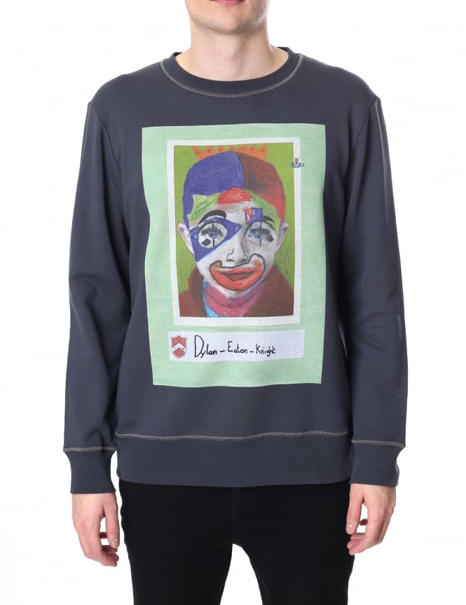 Vivienne Westwood Men's Dylan Crew Neck Sweat Top