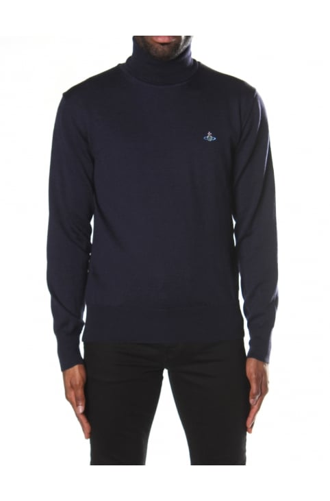 Men's Fine Turtle Neck Knit