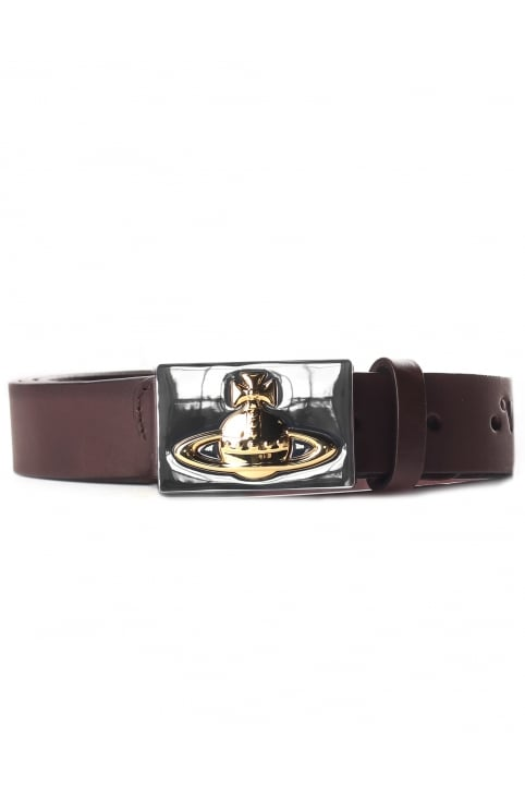 Men's Orb Buckle Belt