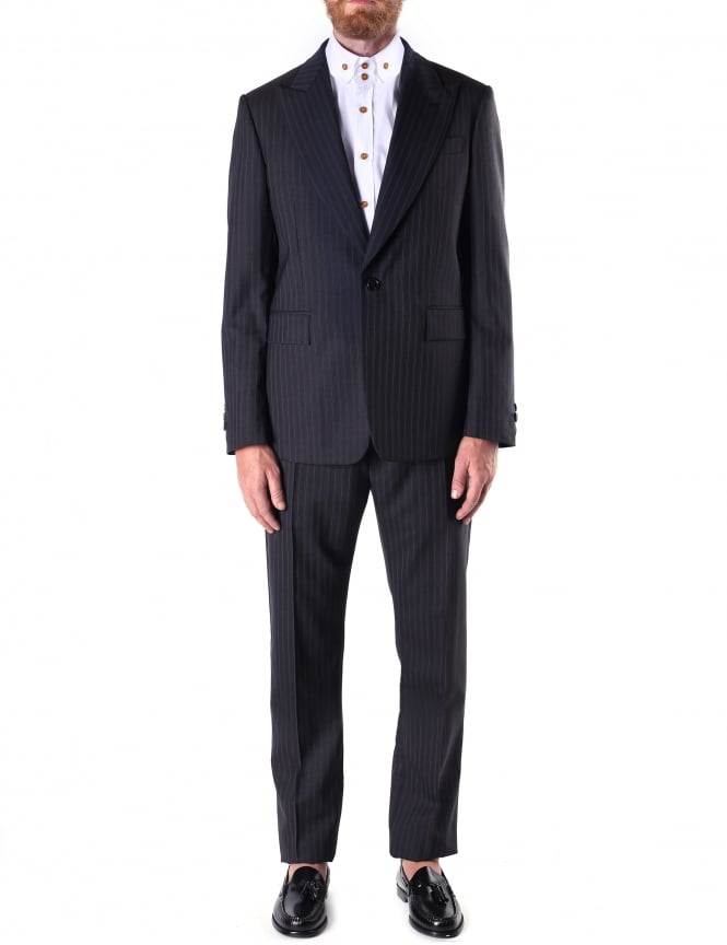 Vivienne Westwood Men's Pinstripe Two Piece Suit