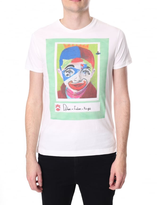 Vivienne Westwood Men's Short Sleeve Peru Clown Tee