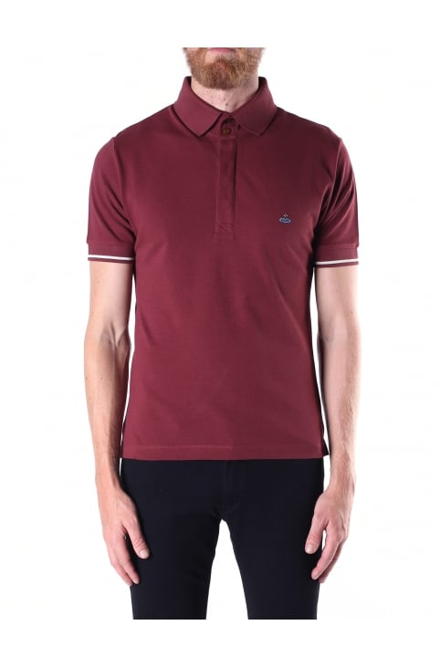 Men's Short Sleeve Placket Polo Top