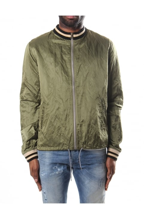 Men's Souvenir Shirt Bomber Jacket