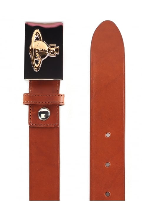 Men's Square Buckle Belt