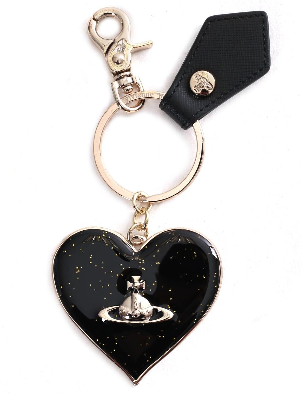 Vivienne Westwood Mirror Heart Women s Keyring caa3df339b