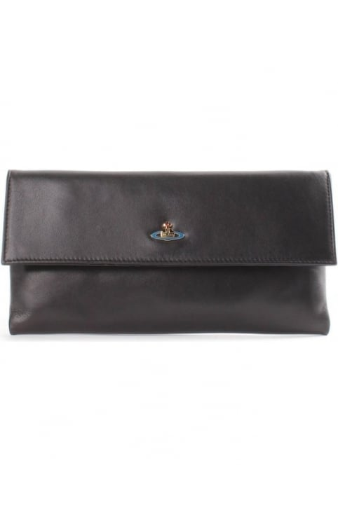 Nappa Women's Leather Clutch Bag