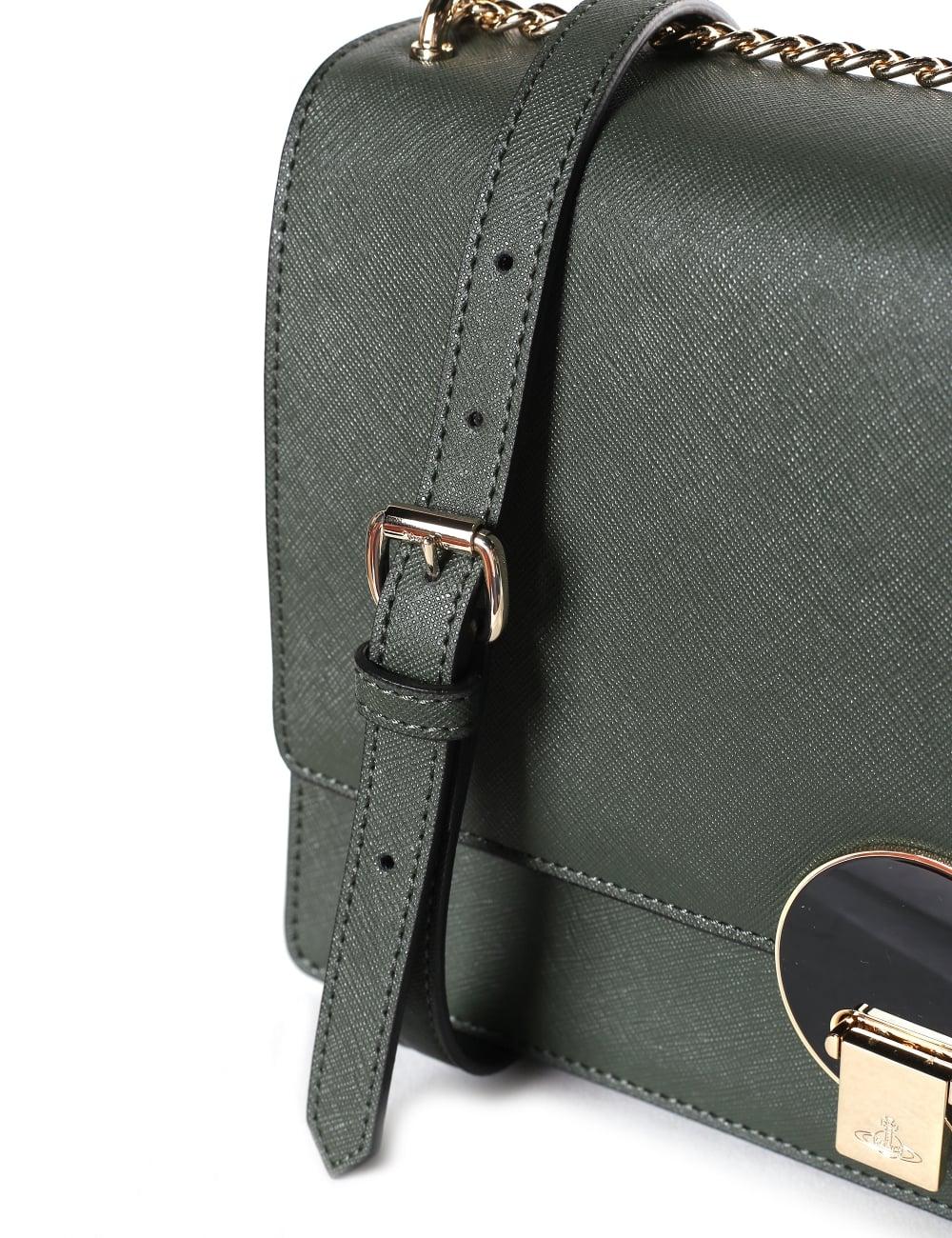 16085cc71 Vivienne Westwood Opio Saffiano Women's Large Crossbody Bag