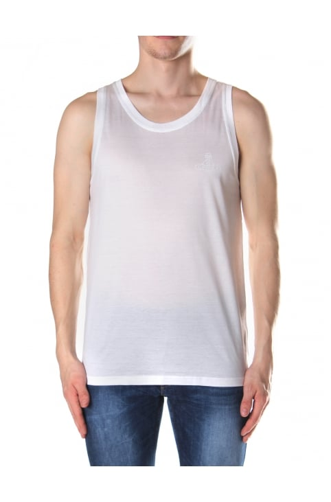Orb Logo Men's Logo Vest Top