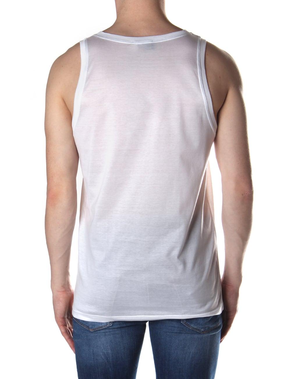 7be1375f855 Vivienne Westwood Orb Logo Men's Logo Vest Top
