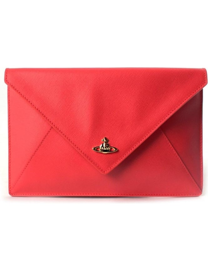 69513ae7007 Vivienne Westwood Pouch Women's 7040V Clutch Bag Red