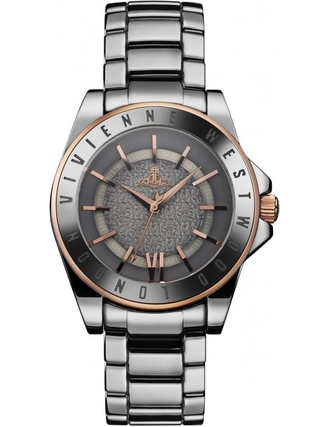 Vivienne Westwood Sloane Unisex Analogue Watch Silver