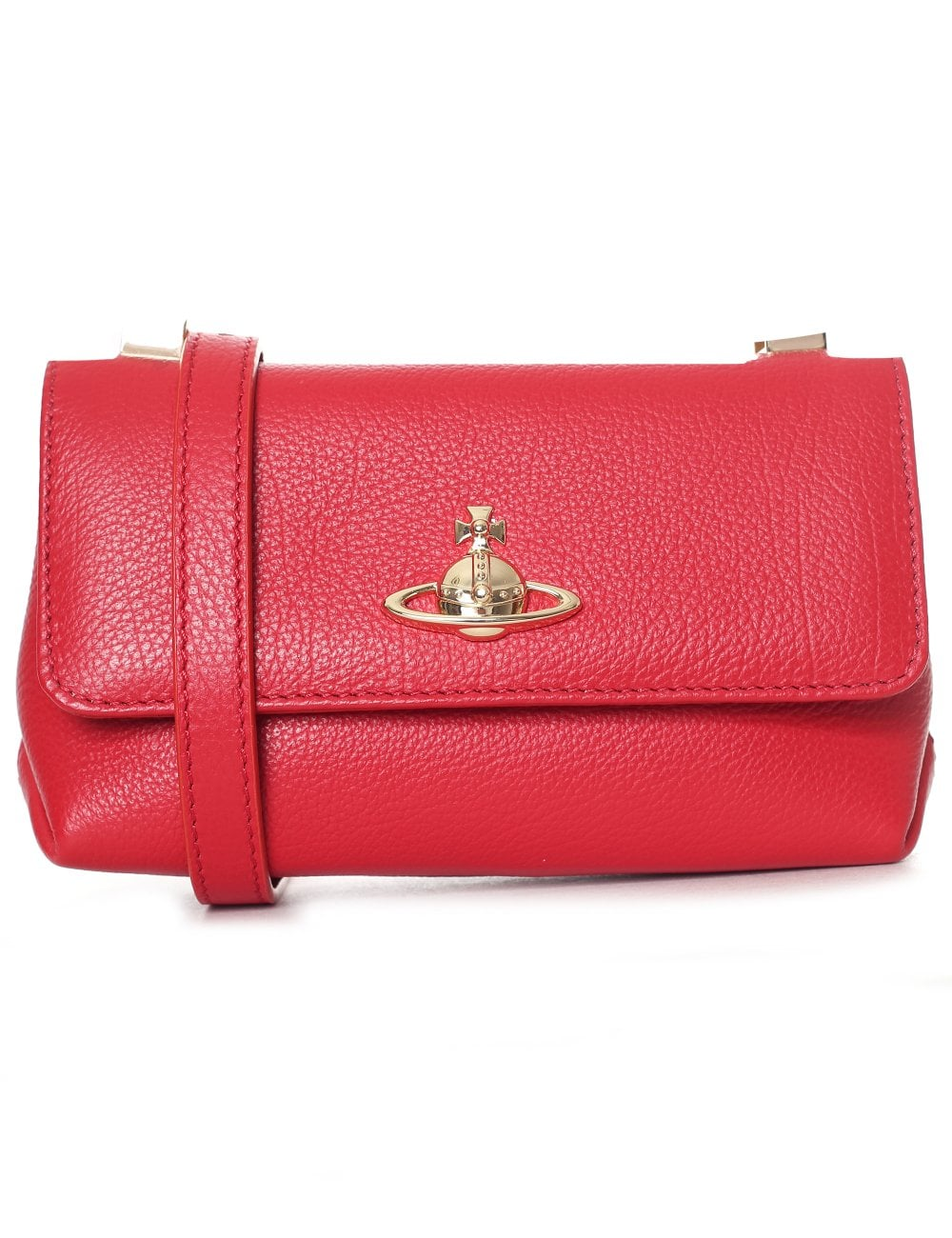 65ce585a20a Vivienne Westwood Women's Balmoral Small Bag With Flap Red