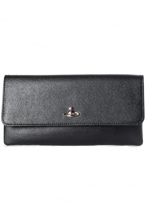 Women's Flap Clutch With Crossbody Chain