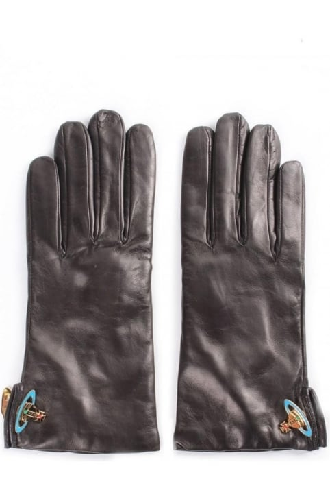 Women's Leather Orb Gloves