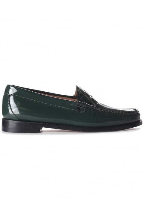 Women's Penny Wheel Loafer Spruce Patent Leather