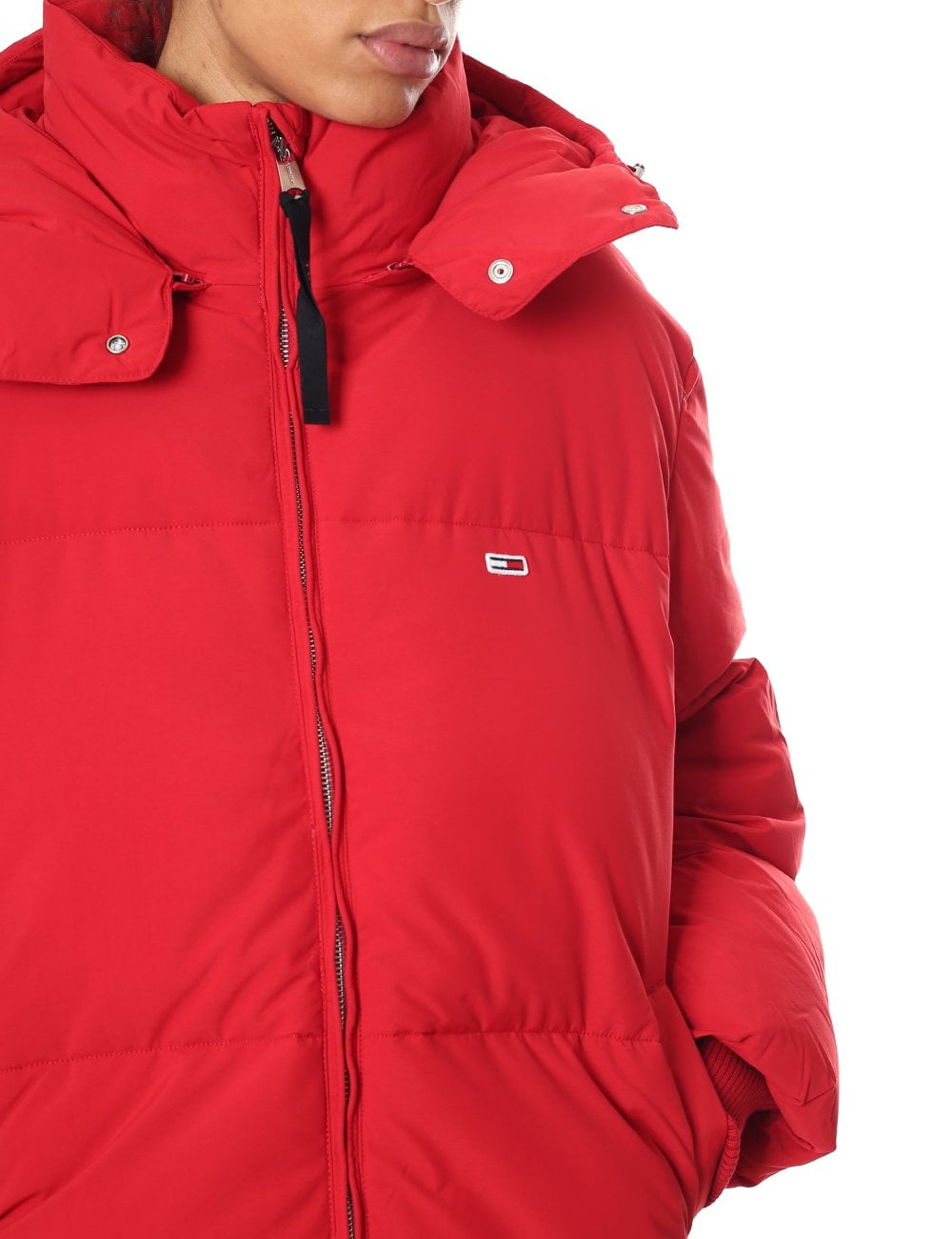 ab52bbf6c Tommy Hilfiger Woman's Oversized Puffer Jacket