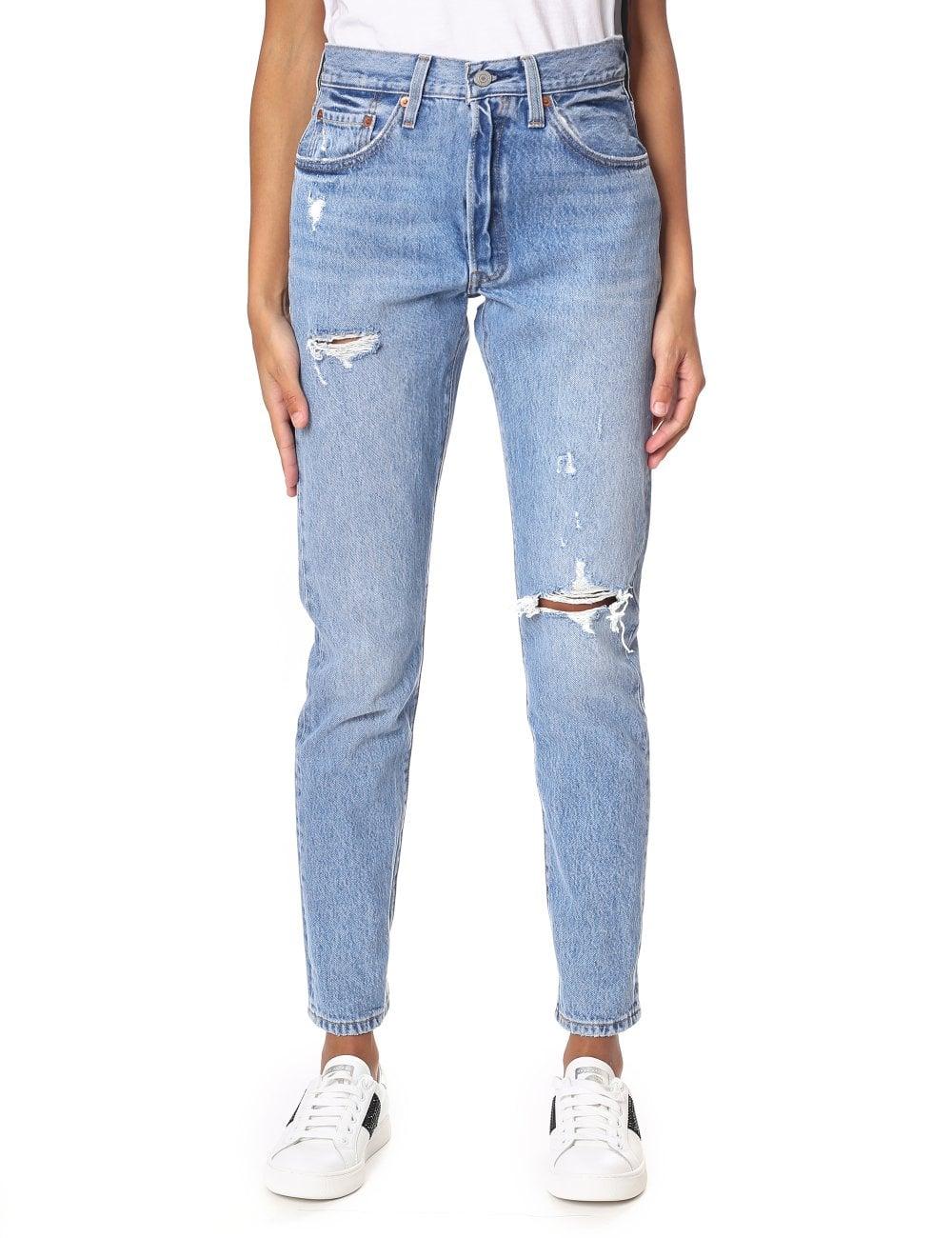 38a604b6276 Levi's Women's 501 Skinny Fit Jeans