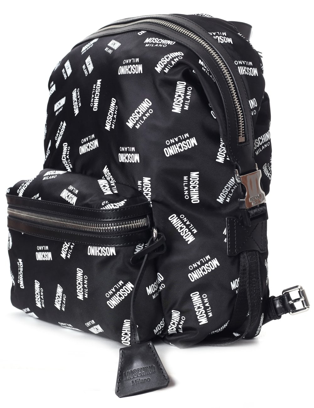 6db797e612 Moschino Couture Women's All Over Logo Backpack